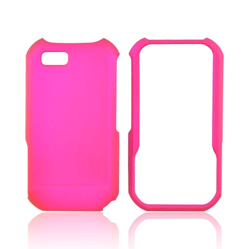 Motorola TITANIUM Rubberized Hard Case - Rose Pink