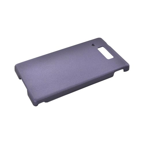 Motorola Triumph Rubberized Hard Case - Purple