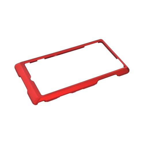 Motorola Triumph Rubberized Hard Case - Red