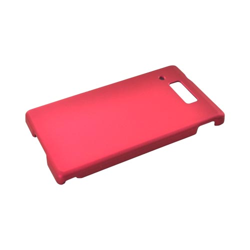 Motorola Triumph Rubberized Hard Case - Rose Pink