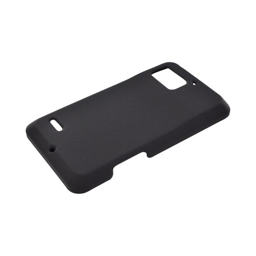 Motorola Droid Bionic XT875 Rubberized Hard Case - Black