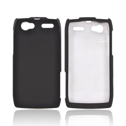Motorola XT881 Rubberized Hard Case - Black