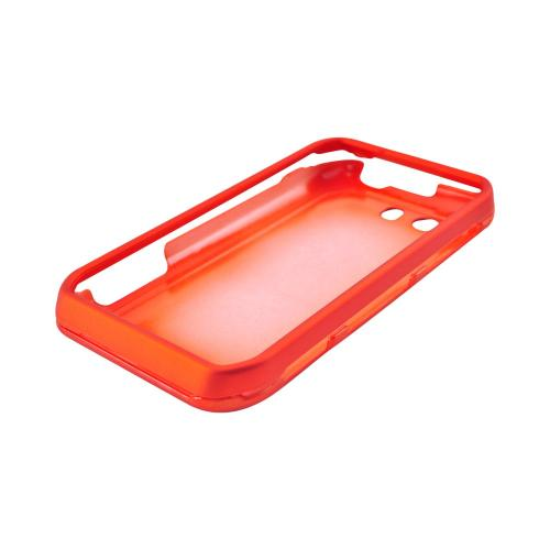 Motorola Photon Q 4G LTE Rubberized Hard Case - Orange