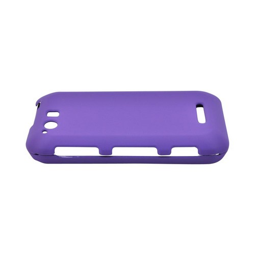 Motorola Photon Q 4G LTE Rubberized Hard Case - Purple