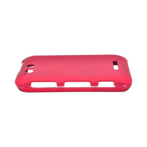 Motorola Photon Q 4G LTE Rubberized Hard Case - Red