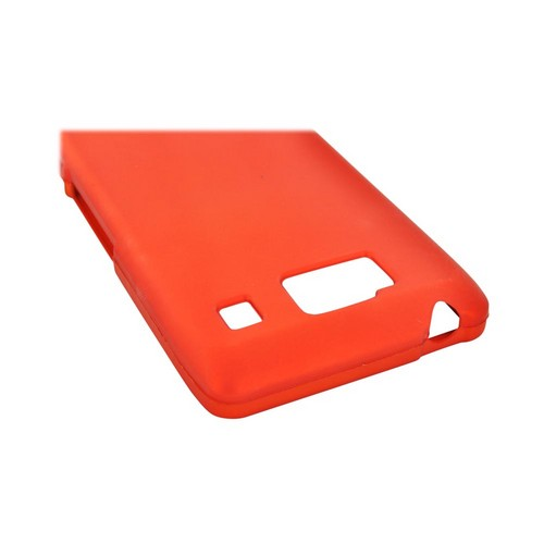 Motorola Droid RAZR HD Rubberized Hard Case - Orange
