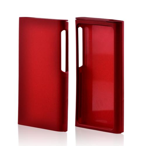 Apple iPod Nano 7 Rubberized Hard Case - Red