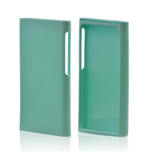 Apple iPod Nano 7 Rubberized Hard Case - Seafoam Green