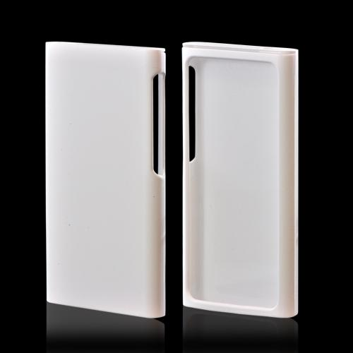 Apple iPod Nano 7 Rubberized Hard Case - White