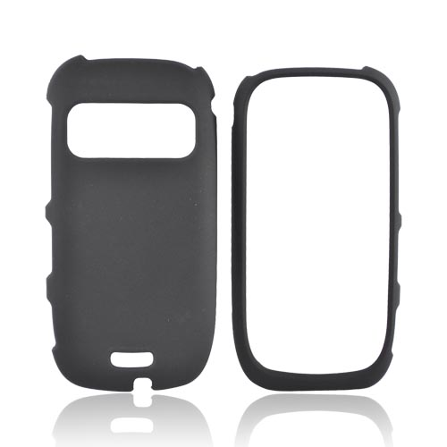 Nokia Astound C7-00 Rubberized Hard Case - Black