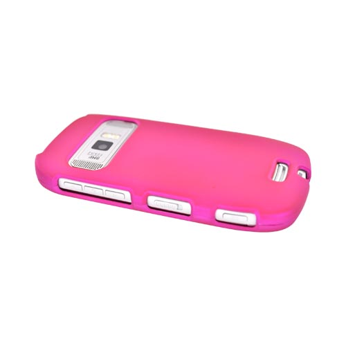 Nokia Astound C7-00 Rubberized Hard Case - Hot Pink