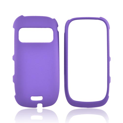 Nokia Astound C7-00 Rubberized Hard Case - Purple
