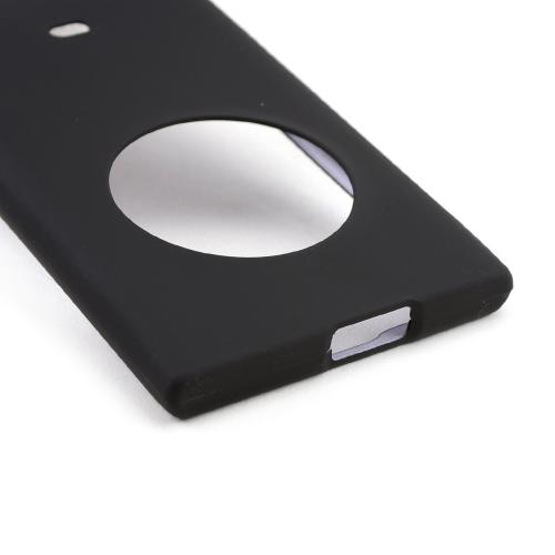 Black Rubberized Hard Case for Nokia Lumia 1020