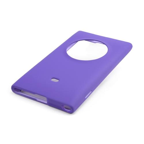 Purple Rubberized Hard Case for Nokia Lumia 1020