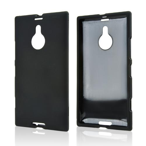 Black Rubberized Hard Case for Nokia Lumia 1520