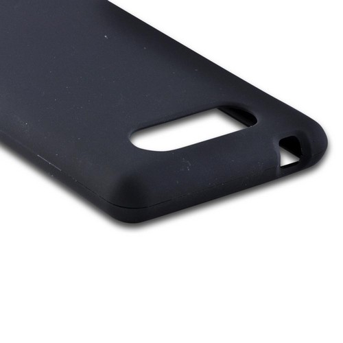Black Rubberized Hard Case for Nokia Lumia 820