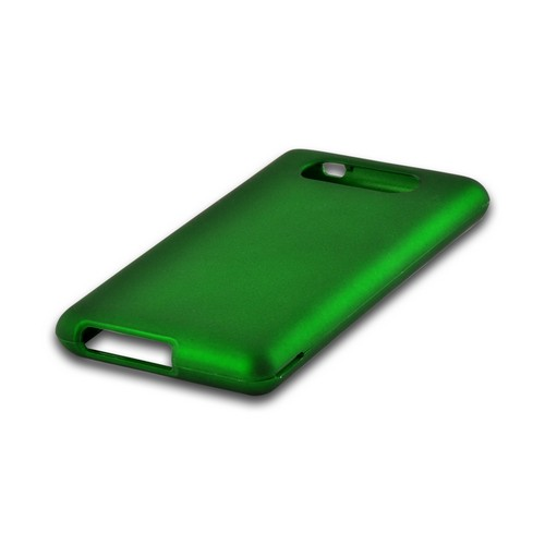 Green Rubberized Hard Case for Nokia Lumia 820