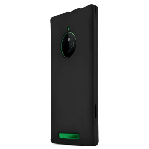 Nokia Lumia 830 Protective Rubberized Hard Case - Anti-Slip Matte Rubber Material [Slim and Perfect Fitting Nokia Lumia 830 (2014) Case] [Black]