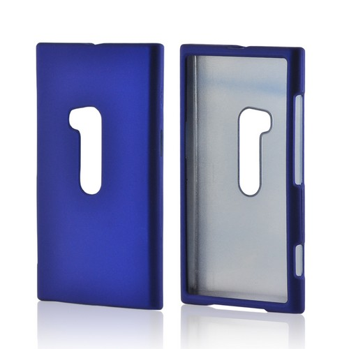 Blue Rubberized Hard Case for Nokia Lumia 920