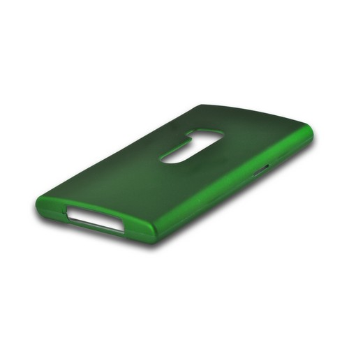 Green Rubberized Hard Case for Nokia Lumia 920