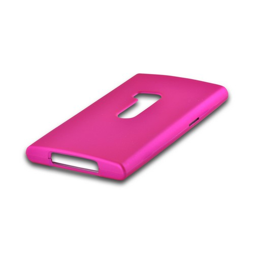Hot Pink Rubberized Hard Case for Nokia Lumia 920