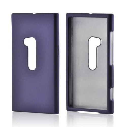 Purple Rubberized Hard Case for Nokia Lumia 920