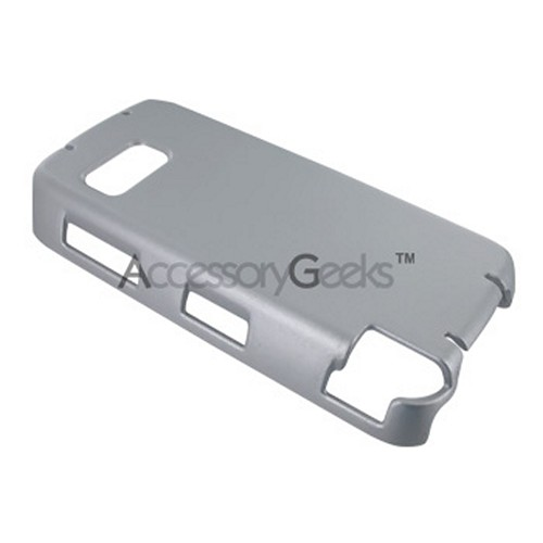 Nokia XpressMusic 5800 Rubberized Hard Case - Silver