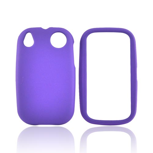 Palm Pre 2 Rubberized Hard Case - Purple