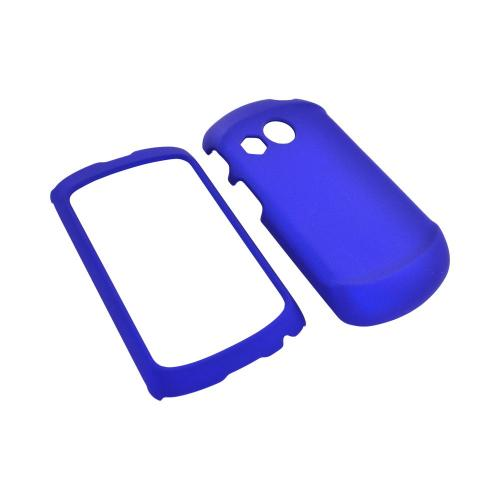 Pantech Swift Rubberized Hard Case - Blue