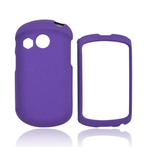 Pantech Swift Rubberized Hard Case - Purple