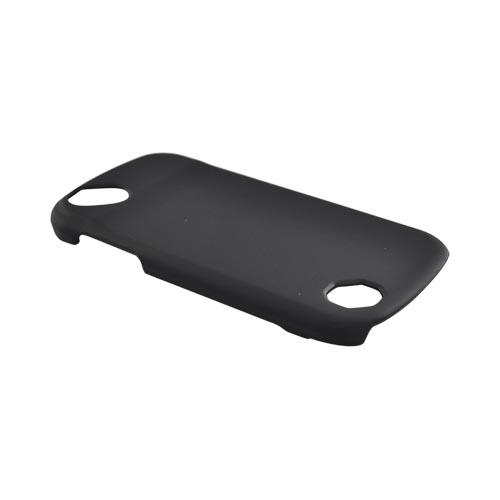 Pantech Laser P9050 Rubberized Hard Case - Black