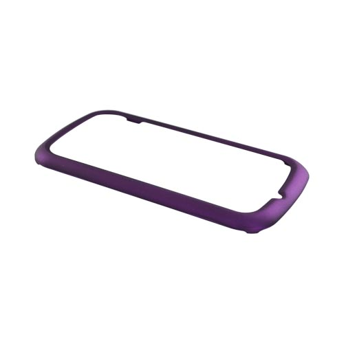 Pantech Laser P9050 Rubberized Hard Case - Purple
