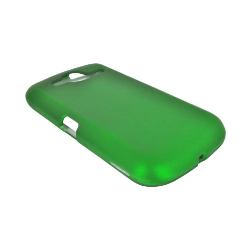 Pantech Burst 9070 Rubberized Hard Case - Green
