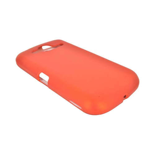 Pantech Burst 9070 Rubberized Hard Case - Orange