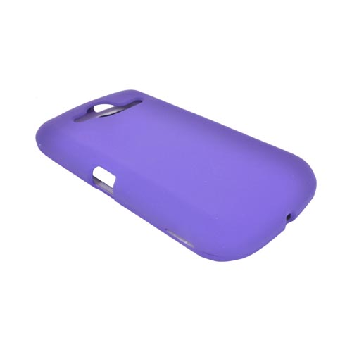 Pantech Burst 9070 Rubberized Hard Case - Purple