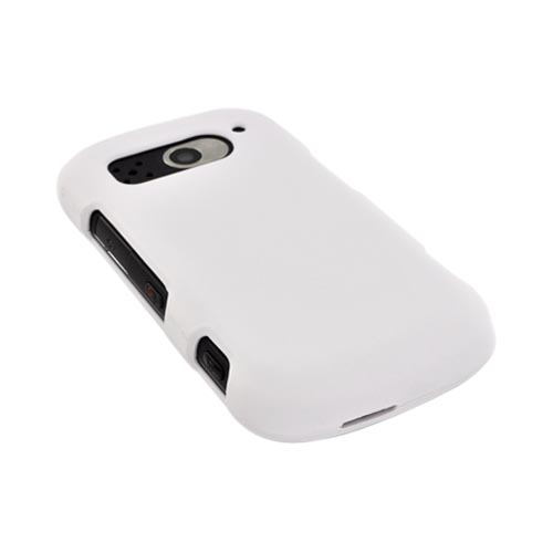 Pantech Breakout Rubberized Hard Case - Solid White