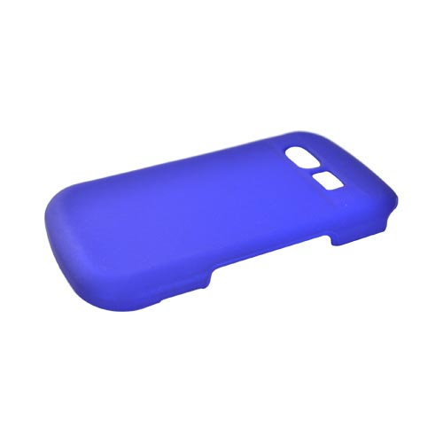 Pantech Caper Rubberized Hard Case - Blue