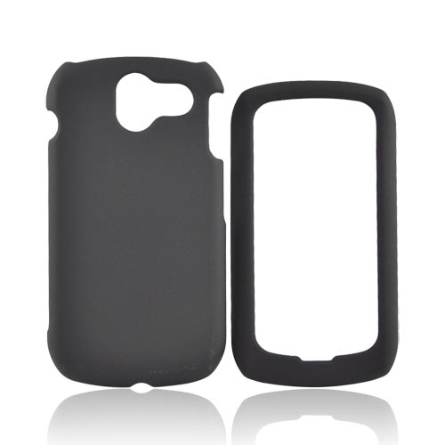 Pantech Crux Rubberized Hard Case - Black