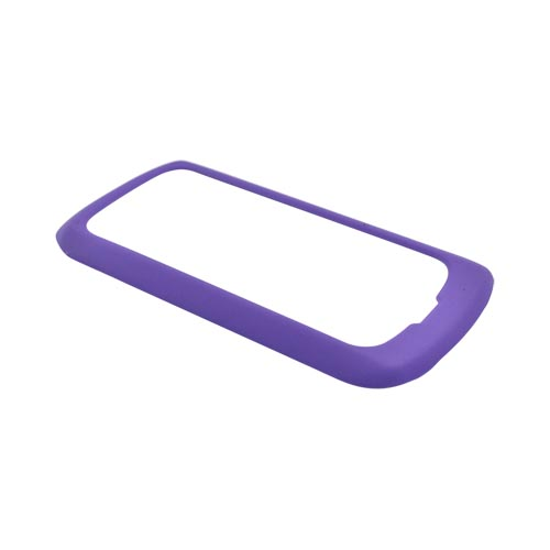 Pantech Crux Rubberized Hard Case - Purple