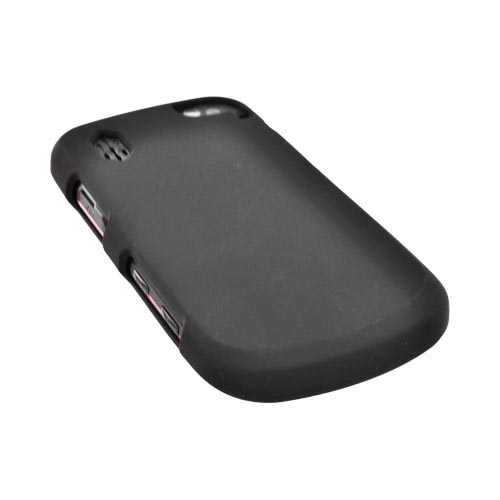 Pantech Hotshot Rubberized Hard Case - Black