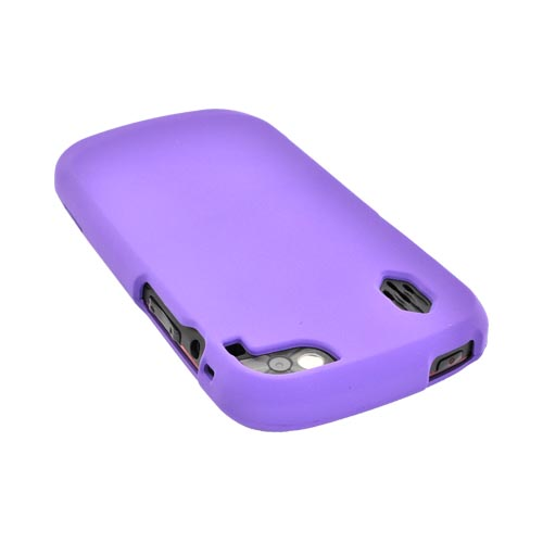 Pantech Hotshot Rubberized Hard Case - Purple