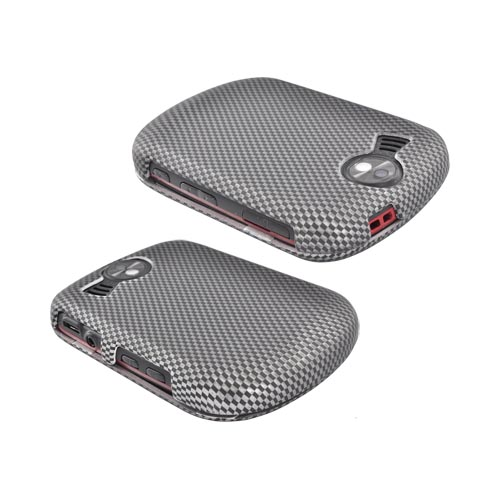 Pantech Jest 2 Rubberized Hard Case - Carbon Fiber