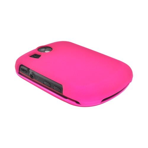 Pantech Jest 2 Rubberized Hard Case - Hot Pink