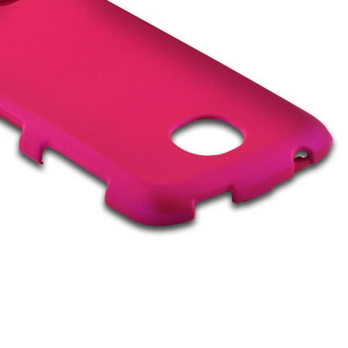 Hot Pink Rubberized Hard Case for Pantech Marauder