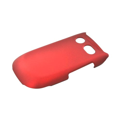 Pantech Breeze 3 Rubberized Hard Case - Red