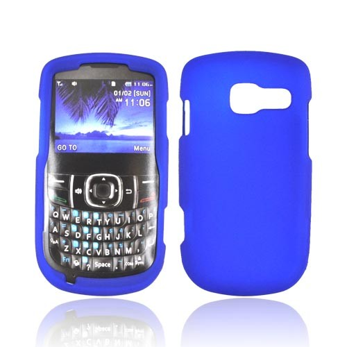 Pantech Link II Rubberized Hard Case - Blue