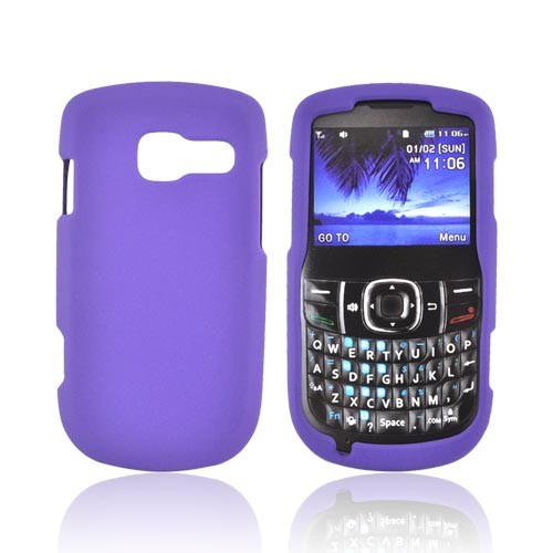 Pantech Link II Rubberized Hard Case - Purple