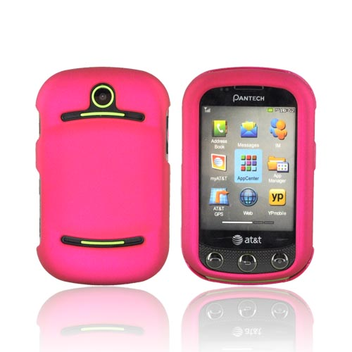 Pantech Pursuit 2 P6010 Rubberized Hard Case - Rose Pink