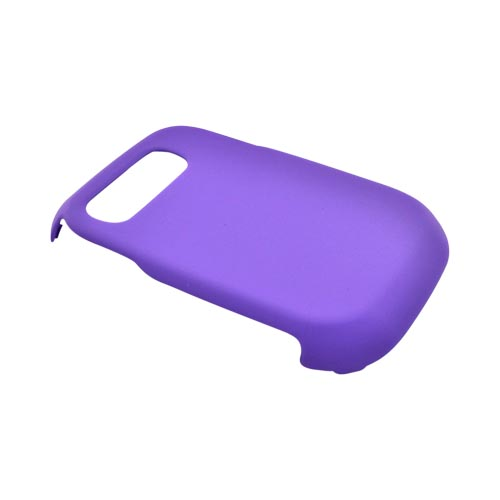 Pantech Pursuit P9020 Rubberized Hard Case - Purple