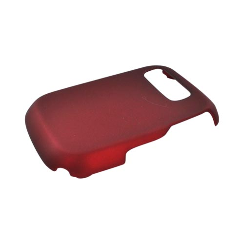 Pantech Pursuit P9020 Rubberized Hard Case - Red